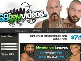 Welcome to 69 Gay Videos - lustful gays get ass stuffed and face creamed in action!