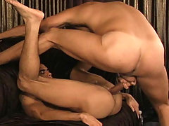 Handsome gay dudes fucking each other ass off in this video