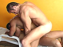 Andre, Denis and Poax mature gay fuck