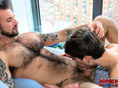 Chris Harder & Michael DelRay mature gay fuck