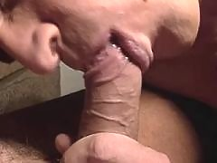 Whose cock is longer gets a blowjob mature gay fuck