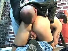 Kinky gay likes to have ass stuffed mature gay fuck