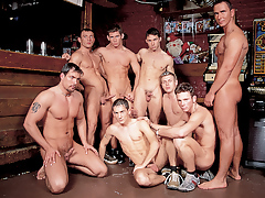 Mega moist hunks in a group orgy fuck fest happens in a wand mature gay fuck