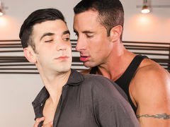 One night, as Andy Banks and his wife are sound asleep, Andy dreams about being stuck at work for the night. He walks into a conference room, where one of his coworkers, Nick Capra, looks like to have been anticipating for him. Nick goes on explaining jus mature gay fuck