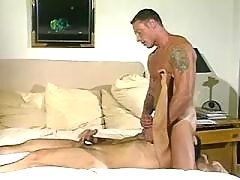 Cute guys fucking after blowjob fun