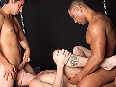 Gay Bareback Dorian Black, Ian Jay, Jake Cruz and Jude
