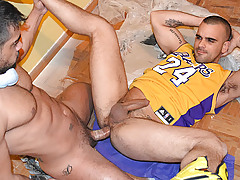 The Handyman stars Wagner Victoria and Damien Crosse. mature gay fuck
