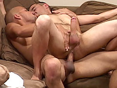Gay Bareback Leo Rivera & Gino Santana mature gay fuck