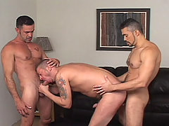 Gay Bareback Tony Serrano, Lito Cruz & Tony London