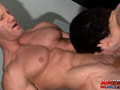 Drake Tyler & Johnny V mature gay fuck