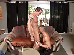 Jason Sparks is smoking the uber-sexy Steven Daigle on the couch. Sparks' joy is positive by his cheeky grin and with such hot ass on the end of your cock it's not hard to be happy. mature gay fuck
