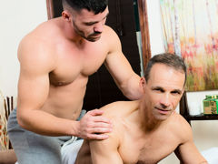 Don't Stress Daddy mature gay fuck