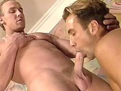 Attractive latino hunk jerking off mature gay fuck