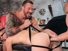 Dr. FrankenFuck's Fist Lab, Scene #03 mature gay fuck