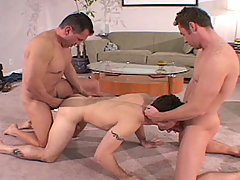 Gay Bareback Chip, Justin, Justin, Marco and Tony mature gay fuck