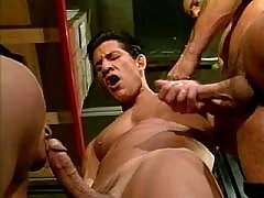 Handsome black eyed Italians suck mature gay fuck