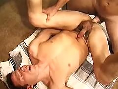Adorable boys fuck and cum outdoors