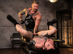 Dr. FrankenFuck's Fist Lab, Scene #02 mature gay fuck