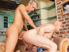Daddy Likes Man-lovers #04, Scene #03 mature gay fuck