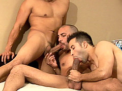 Antonio & Bruno Tag Team Michael mature gay fuck
