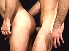 Lovely trio of steamy boys have fun mature gay fuck