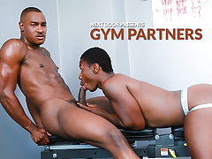 Gym Partners mature gay fuck