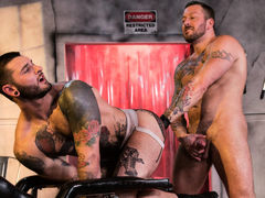 Dr. FrankenFuck's Fist Lab, Scene #01 mature gay fuck