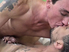 Cade & Billy BAREBACK mature gay fuck